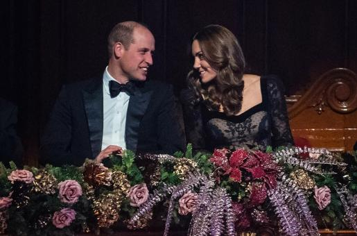 Prince William and Kate Middleton Enjoy 'Date Night' at Royal Variety Performance