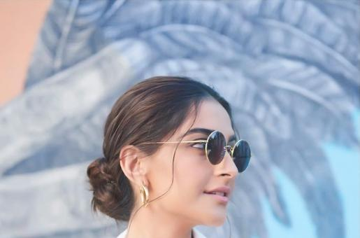 Sonam Kapoor Lets the Sun Shine on Her White Ensemble in Los Angeles