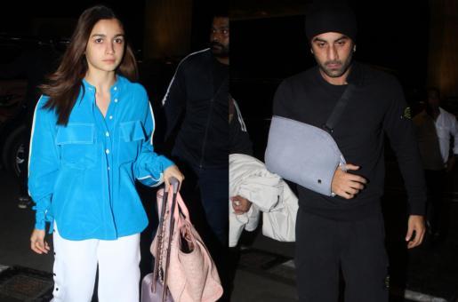 Ranbir Kapoor And Alia Bhatt's Airport Looks Decoded