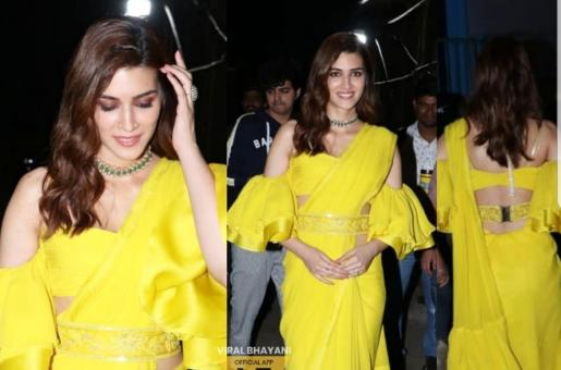 Kriti Sanon Looks Like a Butterfly for The Kapil Sharma Show