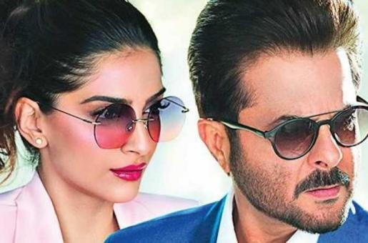 Sonam Kapoor, Anil Kapoor Model for an Eyewear Brand