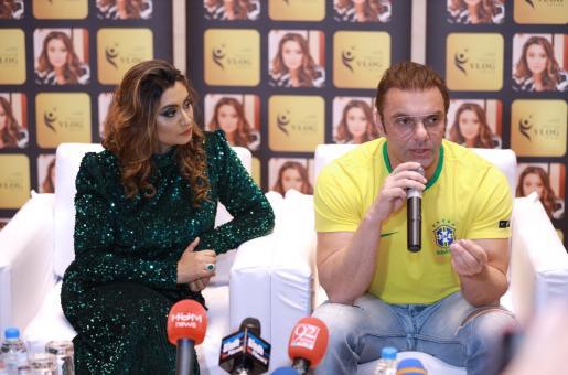 Sohail Khan And Zenofer Fathima At The Official Youth Vlog Awards