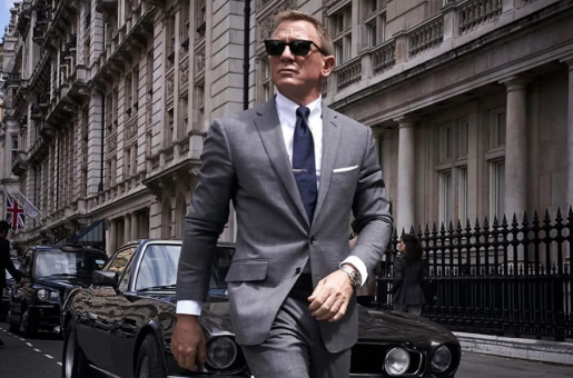 Daniel Craig Becomes First Actor to Sport Grey Hair as James Bond in No Time To Die
