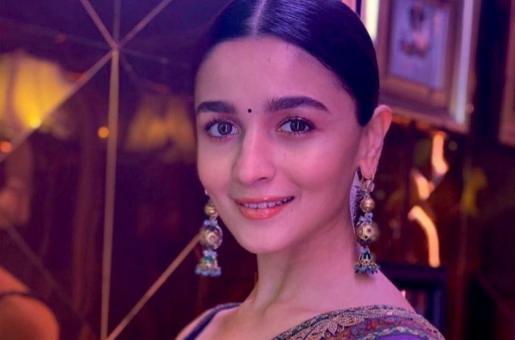 Alia Bhatt Opts For Traditional Look In Sabyasachi Couture
