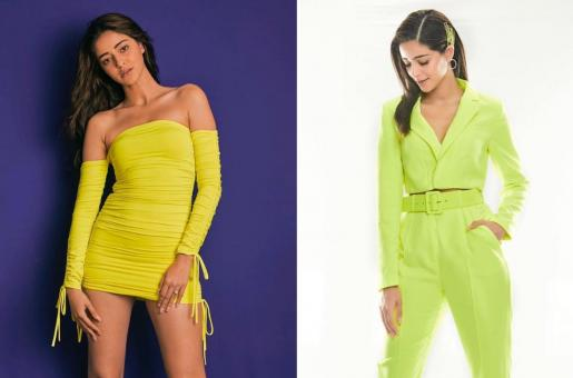 Ananya Panday: Actor Sports Neon Two Ways