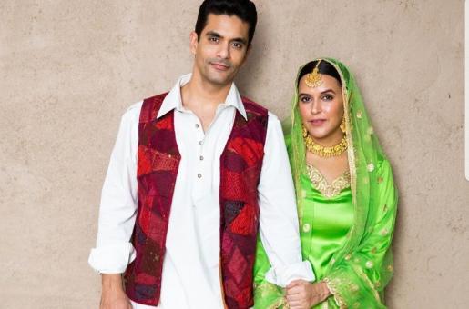 Neha Dhupia and Angad Bedi Turn Into Raj and Simran From Dilwale Dulhaniya Le Jayenge