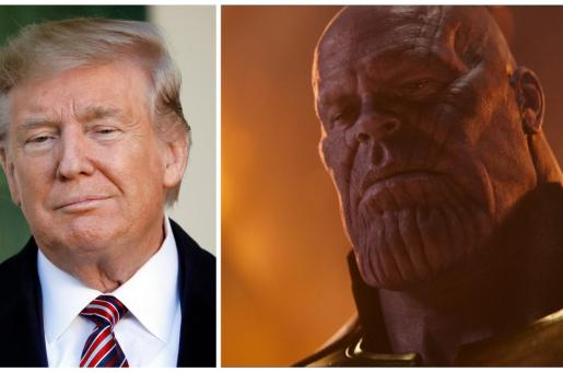 Donald Trump's Comparison to Thanos in New Election Ad Has Got the Blood of Marvel Fans Boiling
