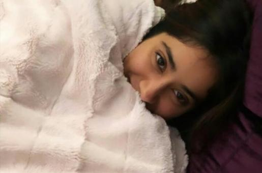 Janhvi Kapoor Curled Up In Bed Is A Total Winter Mood