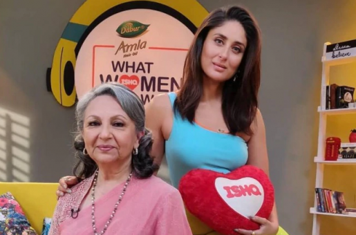 Sharmila Tagore Reveals Kareena Kapoor is the Only One who Responds to her Texts