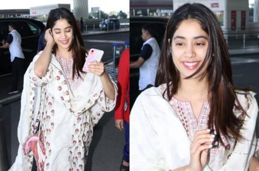 Janhvi Kapoor Aces Desi Attire in Latest Look