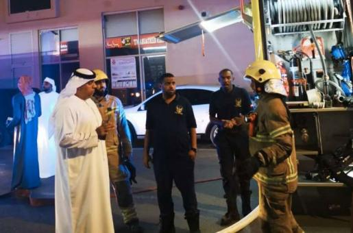 Fire Erupts in Fujairah Building: 150 Families Evacuated