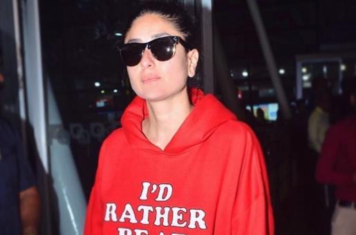 Kareena Kapoor Makes Statement In Slogan Hoodie And It's A Total Mood