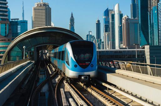 Dubai Metro Timings Extended For Peak Travel Period, New Year's Eve