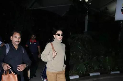 Deepika Padukone Opts for a Neutral Palette in Latest Airport Look