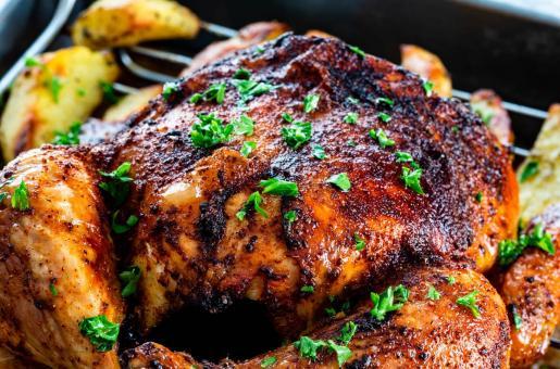 Christmas Dinner: Roast Chicken