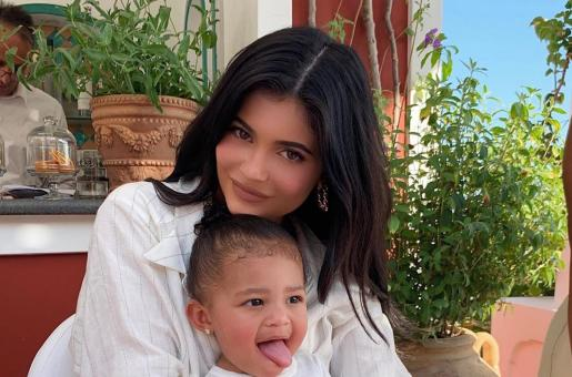 Kylie Jenner and Daughter Stormi Get the Best Christmas Present from Kris Jenner