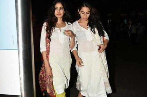 Janhvi Kapoor on Facing Competition from Sara Ali Khan