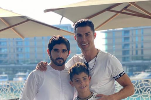 Cristiano Ronaldo and Novak Djokovic Are All Praises for His Highness Sheikh Hamdan