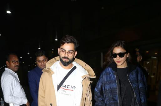 Virat Kohli, Anushka Sharma Serve Airport Style Goals In Latest Pics