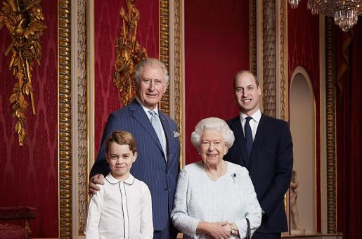 Prince George Steals the Limelight in Latest Royal Portrait Released by the Palace