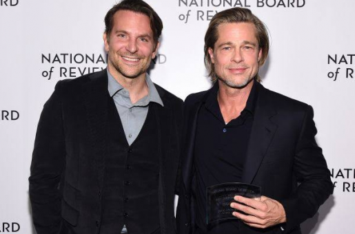 Bradley Cooper Helped Brad Pitt Sober Up After His Divorce from Angelina Jolie