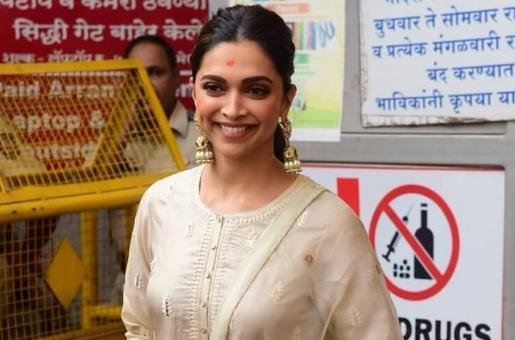 Deepika Padukone Steps Out in Neutral Hues and We're Digging the Look