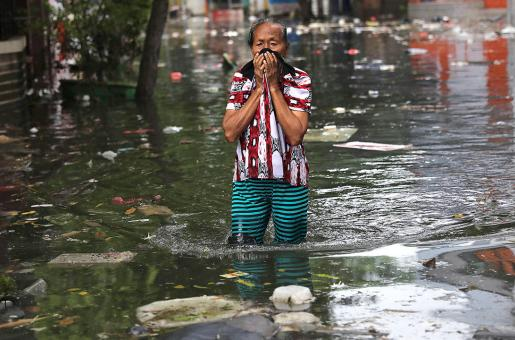 As Rain Pours in Dubai, Jakarta Faces Flooding Too