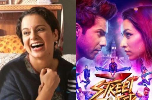 Street Dancer 3D Box Office Collection: Varun Dhawan's Film Races Ahead of Kangana Ranaut's Panga