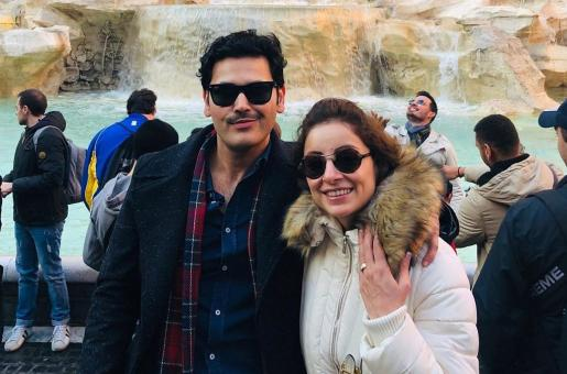 Sarwat Gilani Responds to Hate Over Intimate Picture with Husband Fahad Mirza