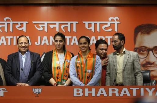 Saina Nehwal Joins Bharatiya Janata Party After Being Inspired by Indian PM Modi