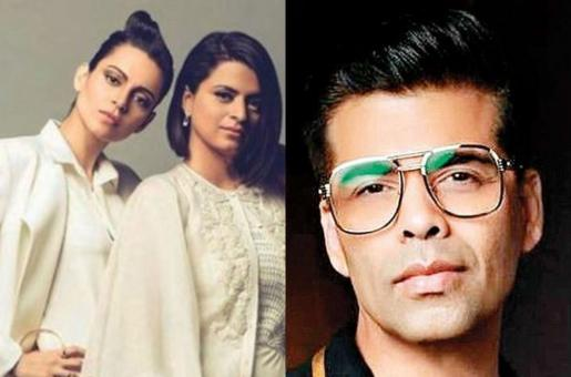 Karan Johar Snubbed Again By Kangana Ranaut's Sister