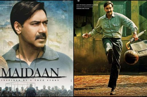 Ajay Devgn's Maidaan First Look Posters Show Actor as Football Coach Syed Abdul Rahim