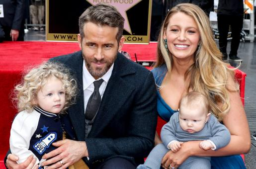 Blake Lively, Ryan Reynolds' Children Know Their Parent's are Actors but Don't Know What it Means