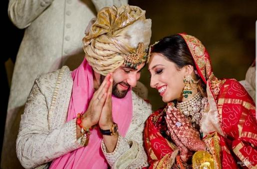 Armaan Jain and Anissa Malhotra Give Royal Vibes on Their Big Day
