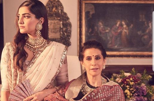 Sonam Kapoor's Latest Photo Shoot Has Both Her Mother and Mother-in-Law