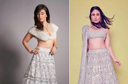 Kareena Kapoor and Two Times The Actress Dazzled in a Silver Lehenga Choli