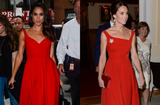 Valentine's Day: How to Rock a Red Dress a la Kate Middleton, Meghan Markle