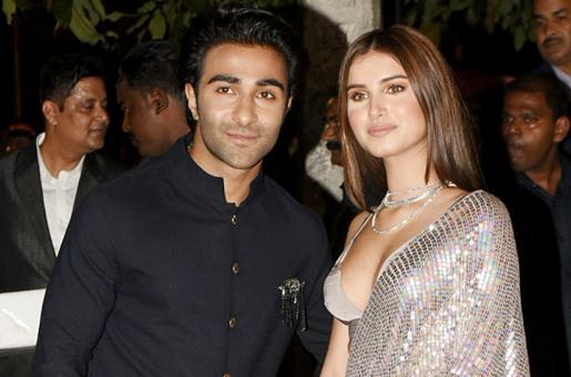 Tara Sutaria and Aadar Jain Spotted at the Movies Together