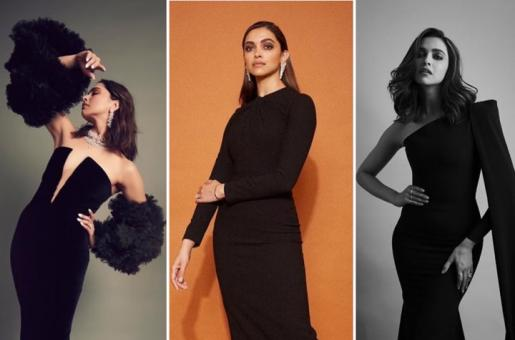 Deepika Padukone: Three Times The Actress Slayed in a Black Dress