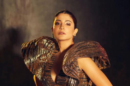 Anushka Sharma Makes Jaw-Dropping Statement in Metallic Dress