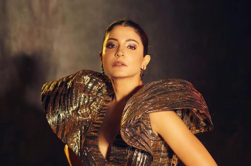 Anushka Sharma Makes Jaw-Dropping Statement in Metallic Dress