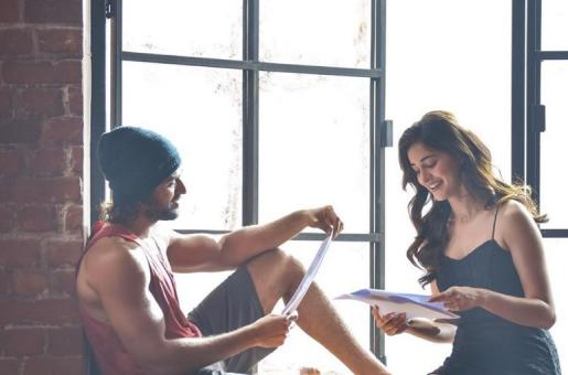 Ananya Panday Posts Pictures With Arjun Reddy actor Vijay Deverakonda From the Shoot