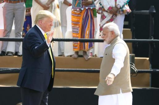 Donald Trump in India: US President Kicks Off His Maiden Visit
