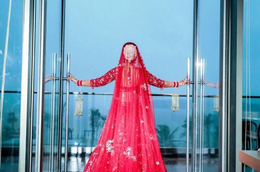This Extravagant Wedding Dress Is Making Rounds on Twitter