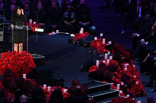 Kobe and Gianna Bryant's Public Memorial: Beyoncé to Jennifer Lopez And Others Attend