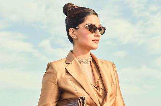 Sonam Kapoor Exudes Boss Lady Vibes in Latest Power Suit Look