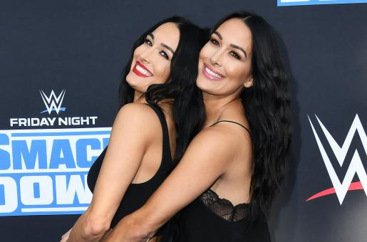 Nikkie and Brie Bella Weigh In On Their Pregnancies, WWE Hall of Fame and More