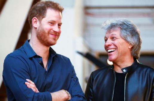 Bon Jovi Supports Prince Harry's Decision to Step Back from Royalty