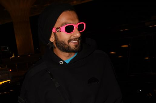 Ranveer Singh Makes Style Statement in Latest Airport Look