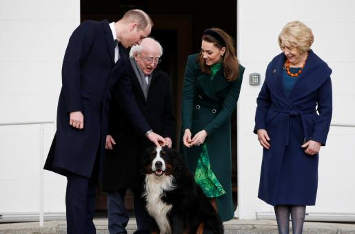 Prince William and Kate Middleton Thank the Irish President for a Warm Welcome